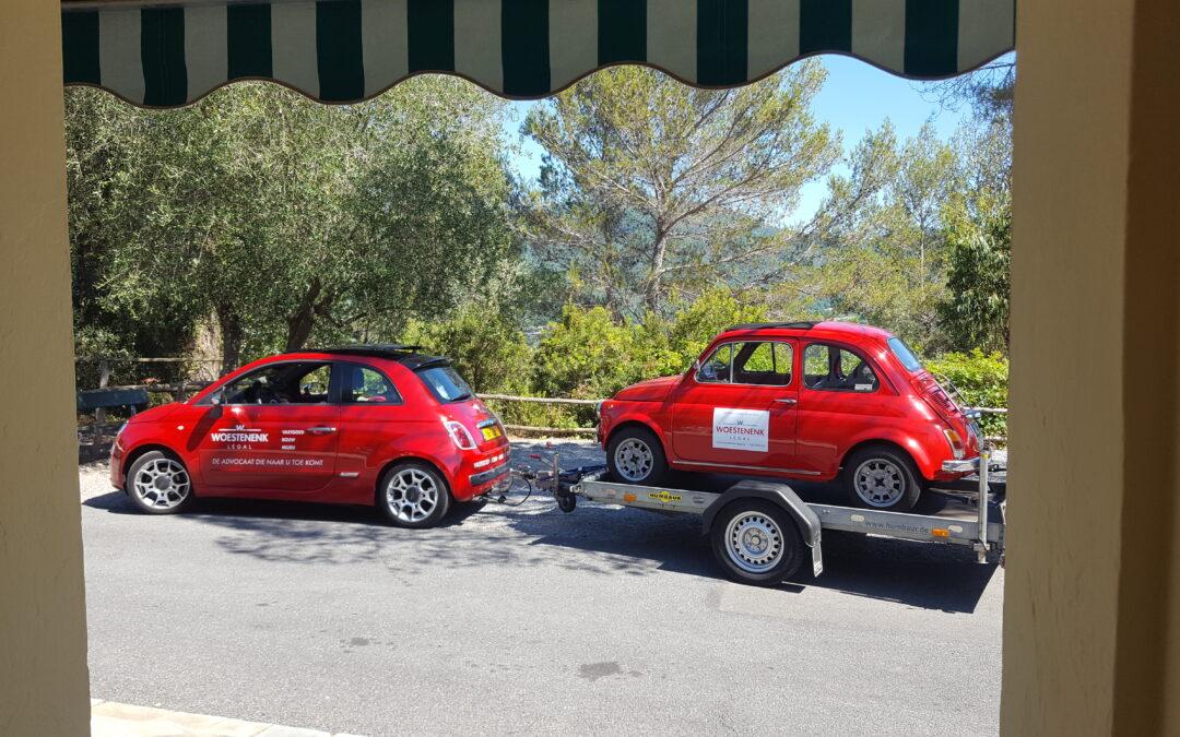 Fiat 500 en advocaten